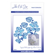 John Next Door Heart Collection - Honesty Leaves (2pcs)