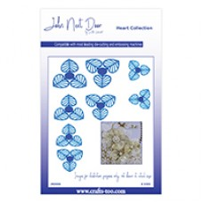 John Next Door Heart Collection - Honesty Flowers (8pcs)