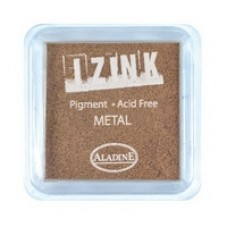 Izink Pigment - Metal Copper 5 x 5 cm