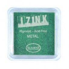 Izink Pigment - Metal Light Green 5 x 5 cm