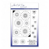John Next Door Clear Stamp - Daisy