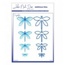 John Next Door Additions Dies - Dragonflies (8pcs)