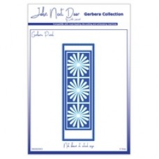 John Next Door Gerbera Dies - Panel (3pcs)