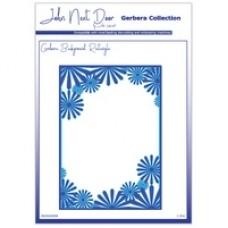 John Next Door Gerbera Dies - Rectangle Background (1pcs)