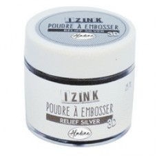 Aladine Embossing Powder - Relief Silver 25ml