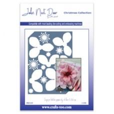 NEW John Next Door Christmas Dies - Christmas Rose Die Plate