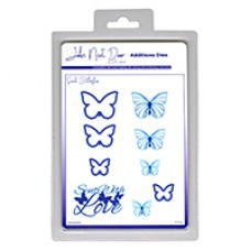 John Next Door Additions Dies - Small Butterflies (9pcs)