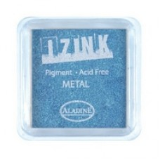 Izink Pigment - Metal Light Blue 5 x 5 cm