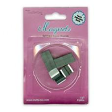 """Self Stick Square Magnets 1/2"""" 8pcs"""
