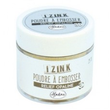 Aladine Embossing Powder - Relief Opaline 25ml