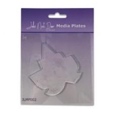 John Next Door Media Plate - Leaf