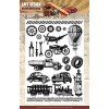 Amy Design Clearstamp - Vintage Vehicles
