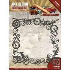Amy Design Vintage Vehicles Cutting Die - Vehicle Frame