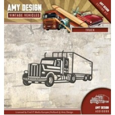 Amy Design Vintage Vehicles Cutting Die - Truck