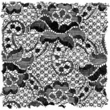 Woodware Clear Singles - Ripped Lace