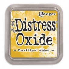 Tim Holtz Distress Oxide Pads Fossilized Amber