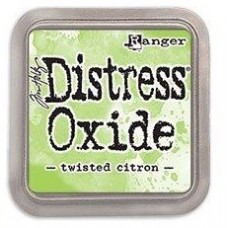 Tim Holtz Distress Oxide Pad Twisted Citron