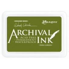 Archival Ink Pad Fern Green - Wendy Vecchi