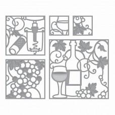 Spellbinders Die Wine Snippets