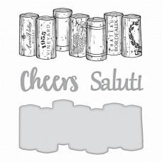 Spellbinders Die Wine Corks