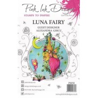 Pink Ink Designs Clear Stamp Luna Fairy A5
