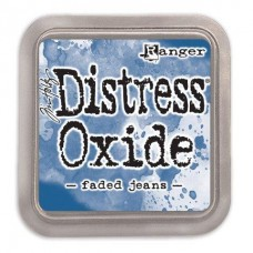 Tim Holtz Distress Oxide Pad Faded Jeans