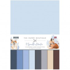 The Paper Boutique A Sprinkle of Winter Colour Card Collection