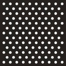 That Special Touch Polka Dots 6 in x 6 in Mask