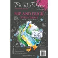 Pink Ink Designs Nip & Duck A5 Clear Stamp Set