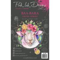 Pink Ink Designs Baa-Bara A5 Clear Stamp Set