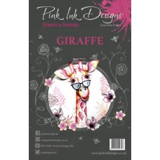 Pink Ink Designs A5 Clear Stamp Set Giraffe