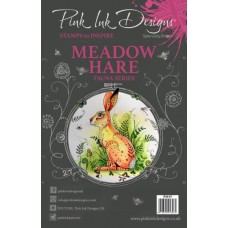 Pink Ink Designs A5 Clear Stamp Meadow Hare