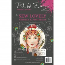 Pink Ink Designs Sew Lovely A5 Clear Stamp