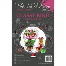 Pink Ink Designs Stamp - Classy Bird A5