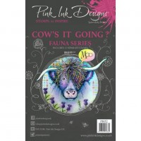 Pink Ink Designs Stamp - Cow's It Going?
