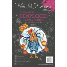 Pink Ink Designs Stamp - Henpecked