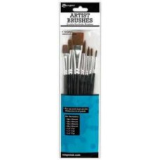 Assorted Paint Brushes (Pack Of 10)