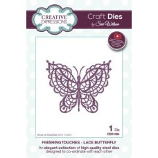 Finishing Touches Collection Lace Butterfly Die
