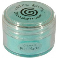 Phil Martin Cosmic Shimmer Emboss Powder Graceful Mint