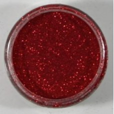 Cosmic Shimmer Fire Red Polished Silk Glitter