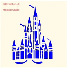 MAGICAL CASTLE STENCIL