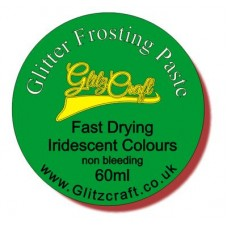 EMERALD GREEN FROSTING PASTE  30ML TUB