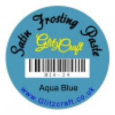 AQUA BLUE FROSTING PASTE  30ML TUB)
