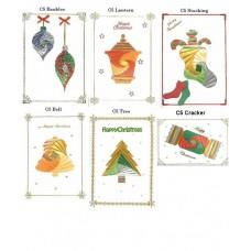 C5 Iris Folding Multi Pack - Christmas