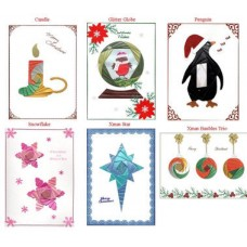 C5 Iris Folding Multi Pack - Christmas 2