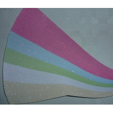 Ultra Glitter Strips pink -3