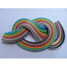 3mm Quilling Papers in 35 Assorted Colours
