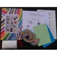 Quilling Designs on the Farm