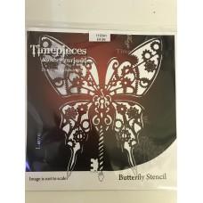 Sandra Rushton Butteryfly Stencil