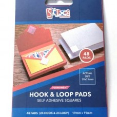 Permanent White Hook and Loop Squares